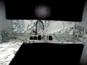 Araescato Marble Kitchen Worktops