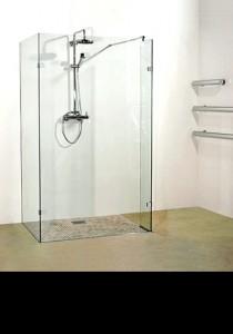 Framless Glass Walki-n Shower Screens