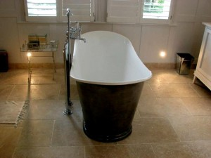 FreeStanfing Bath Rustic Angora Tiles