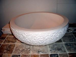 Textured Myra Globe Wash-Basin