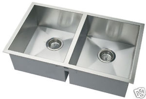 Under mounted Square Stainless Steel Kitchen Sink | Nature Fusion
