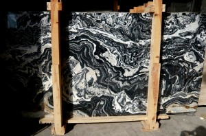Nero Picasso Marble
