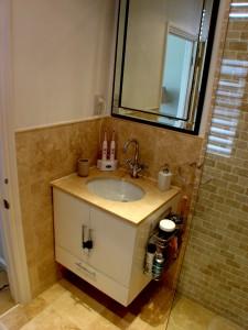 Angora Vantity Top _ Bespoke Bathroom Cabinet