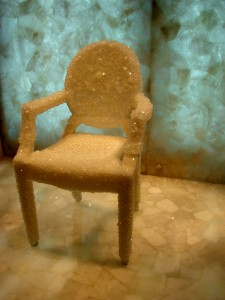 Chair - in Semi Precious