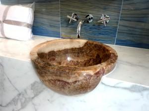 Fantasia Onyx Globe Hand Carved Bespoke
