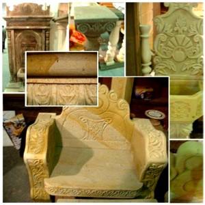 Garde Stone ornament details