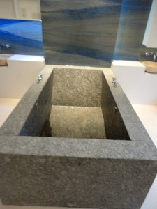 Granite Lathered Surface Bath tube - Bloomsbury Square, London