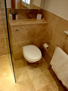well proportioned space for the Toilet Seat
