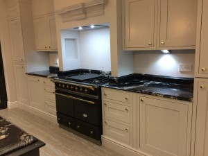 Black Cosmos Granite Double ogee Kitchen Work Tops