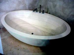Angora Stone Bath Tube