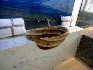 Fanstasia Rosso Onyx Alsancak HandCarved Basins 800 x 400 x 320 mm