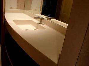 Myra Hand Carved Integrated Vaniuty Top