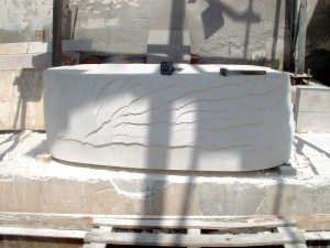 Myra Limestone Block ready to be carved